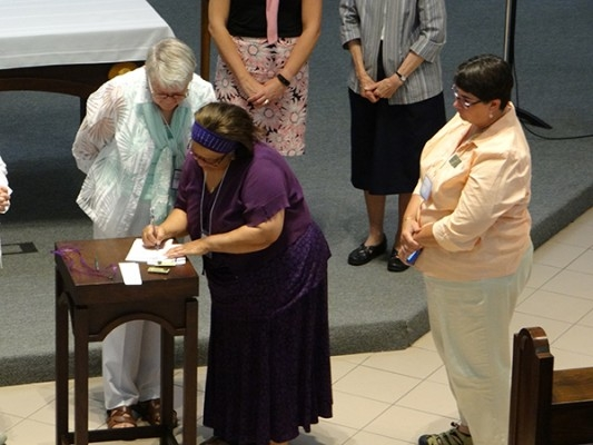 July 27 - Associate Covenant Signing