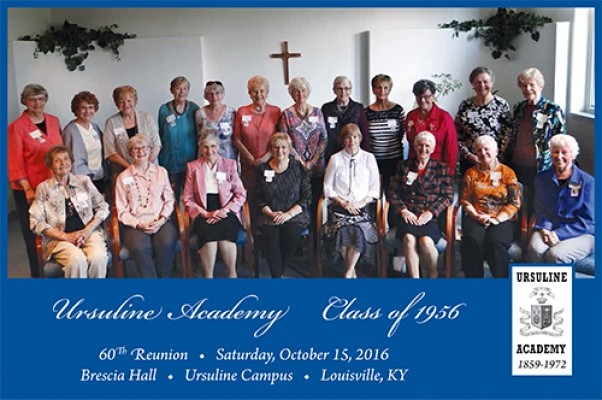 October 15, 2016--Ursuline Academy Class of 1956--60th Reunion