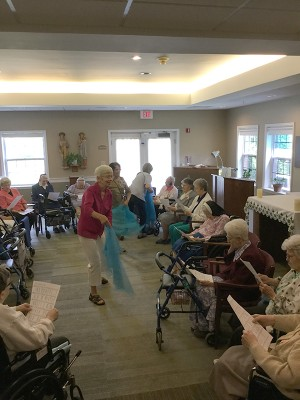 July 28 - Missioning at Sacred Heart Home