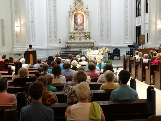 July 28 - Missioning at the Motherhouse