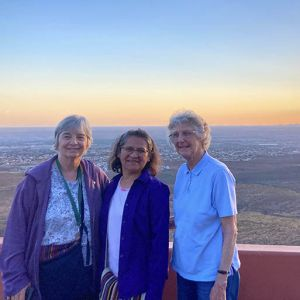 Sisters reunite to celebrate work at the border